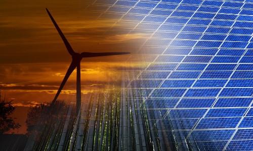 Renewable energy sources.